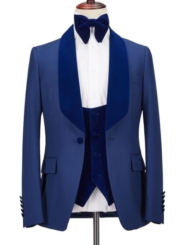 Noivos de Azul - Uma Opção Elegante e Bonita