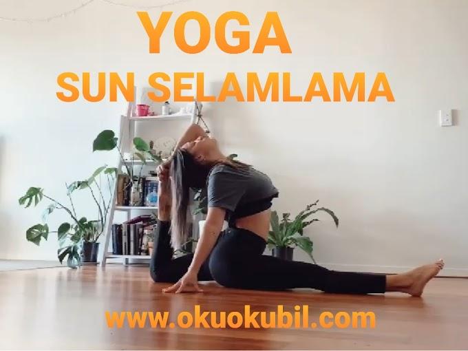 Yoga Ve Sun Selamlama Duvar Hareketleri Nelerdir?