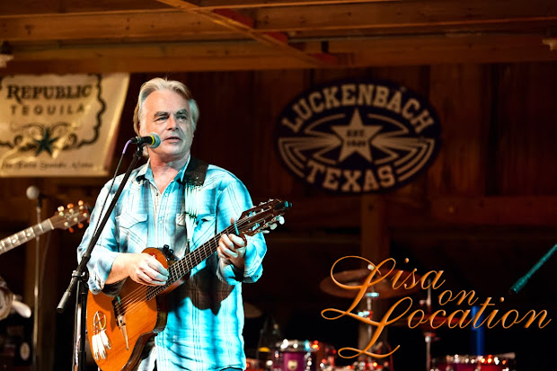 Hal Ketchum plays at Luckenbach, Texas, dance hall