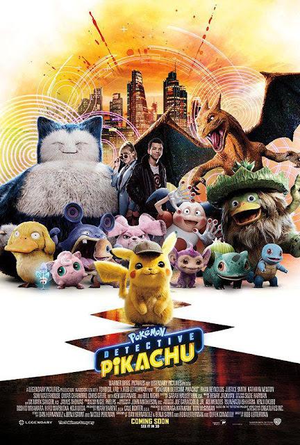 Allahu....sebenarnya lama dah janji dengan anak-anak nak bawa tengok filem Pokémon Detective Pikachu (2019). Filem ini merupakan salah satu yang anak-anak tungu.  Pokemon, pikachu yang comel siapa yang tak suka,kan? Lelagi apabila ianya menjadi detektif dalam Pokémon Detective Pikachu (2019)    Pokémon Detective Pikachu (2019) Filem Pokémon Detective Pikachu (2019) yang dibintangi oleh Ryan Reynolds dan Justice Smith ini merupakan filem live action pertama dalam franchise pokemon. Dia rahlan oleh Rob Letterman ini menceritakan tentang dunia dimana manusia mengumpulkan pokemon untuk bertempur.        Sinopsis Pokémon Detective Pikachu (2019) Cerita ini bermula saat Harry Goodman , seorang detektif terkenal manakala ayah dari Tim Goodman (Justice Smith) hilang secara miteri apabila keretanya kemalangan.  Tim keadaan ayahnya, kemudian Tim menjadi penyiasat !  Dalam pada penyelidikannya, ia bertemu dengan Pikachu (Ryan Renolds) .Semasa di Ryme City, Tim bertemu dengan detektif Pikachu (Ryan Renolds) yang tiba-tiba muncul di apartment nya. Pikachu sendiri sedang mencari di manakah Harry .  Dalam cerita ini, yang bestnya...bagaimana Pikachu handle kes ini. Mana minsteri kehilangan ayahnya. Yang pastinya, teaser Pokémon Detective Pikachu (2019) agak kelakar dan menghiburkan.   Nampaknya filem ini ada limited cinema je tayangkan. Kalau tak dapat bawa bebudak ni tengok. Alamatnya, Netflix atau tunggu di ASTRO je lah hehehe !
