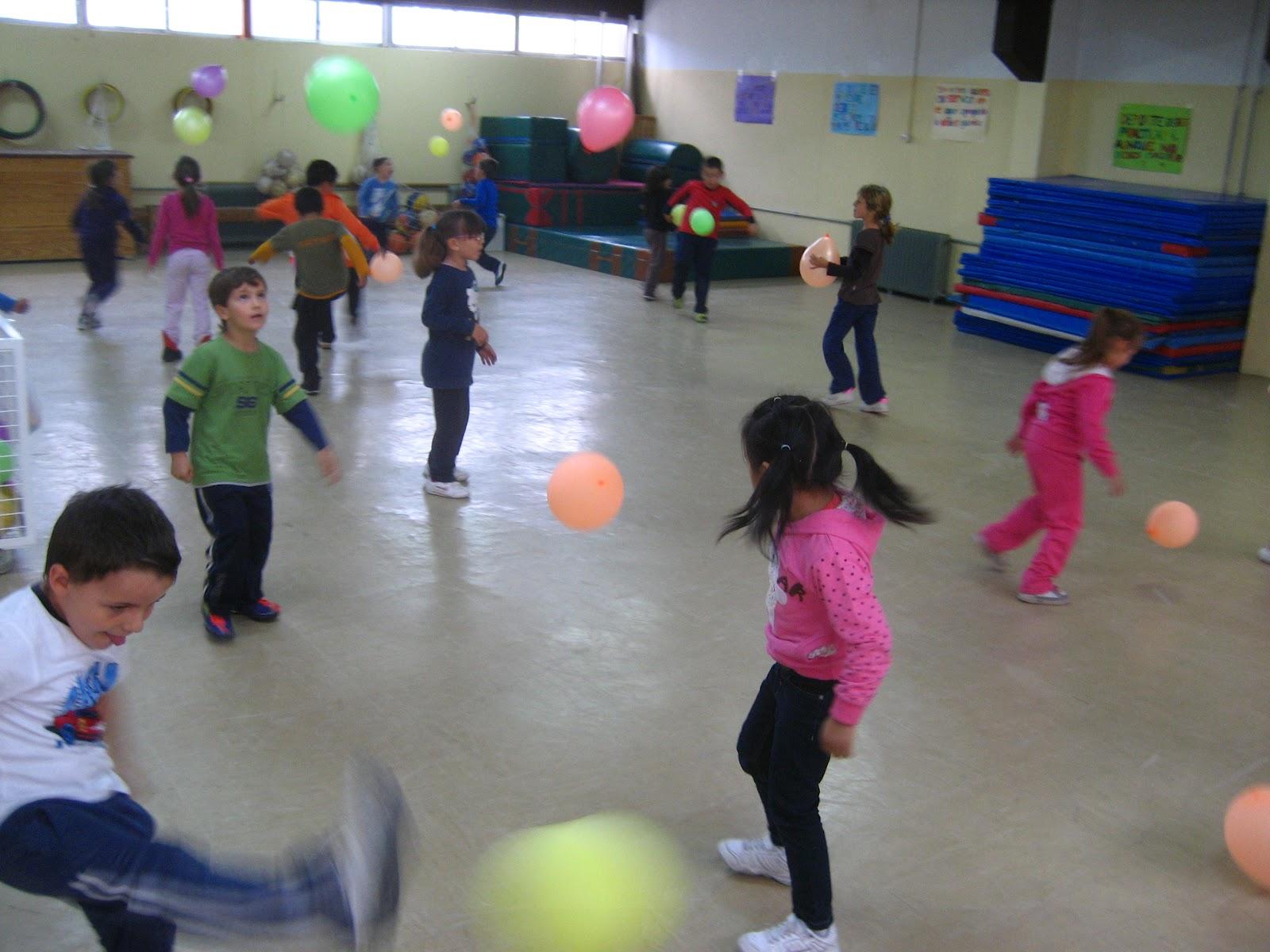 Blog De Educacion Fisica En Primaria Conozco Mi Cuerpo Con Los Globos