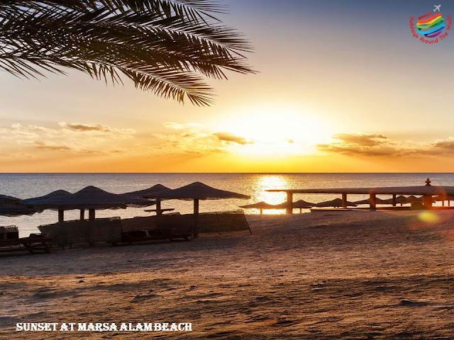 Sunset at Marsa Alam