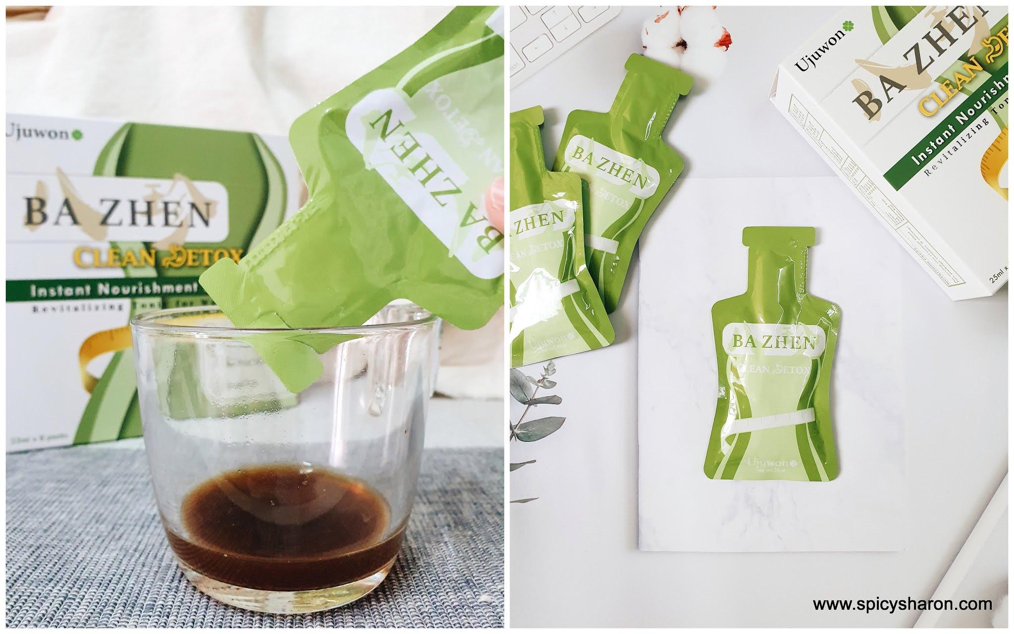 Product Review : Ujuwon Ba Zhen Clean Detox & Bust Up Instant Nourishment Drink