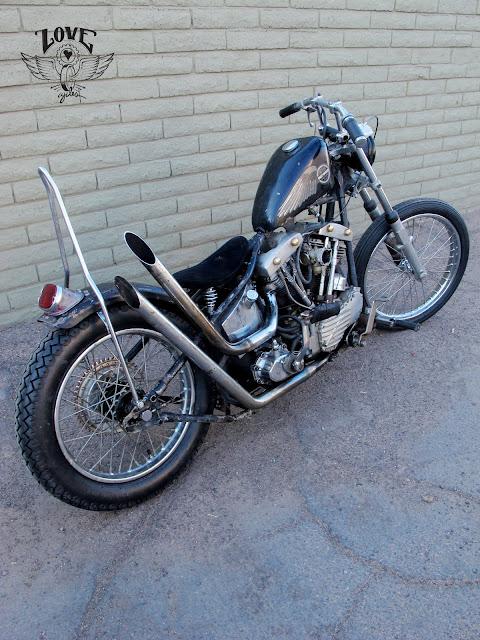 Harley Davidson Pan-Shovel 1949 By Love Cycles Hell Kustom