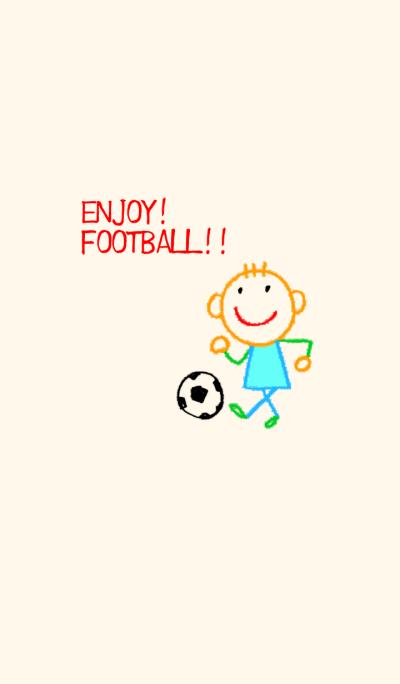 English scribbling(Football version)
