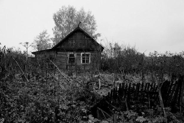 El sujeto de la casita de madera