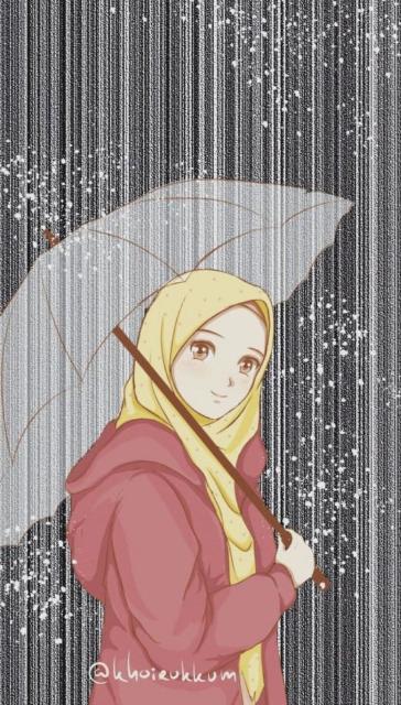 Terbaru Anime Gambar Kartun Lucu Dan Imut Berhijab Terupdate