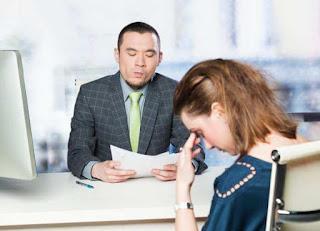 Kamu terlalu gugup saat proses interview