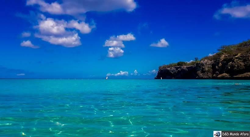 Praia de Curaçao: Kenepa Grandi - Diário de Bordo: cruzeiro pelo Caribe