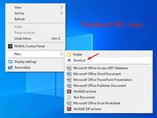 Cách tạo lối tắt cho Trình quản lý thiết bị trên Windows 10