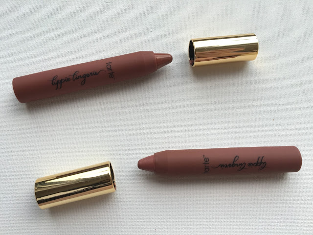 Tarte lippie lingeries on white background