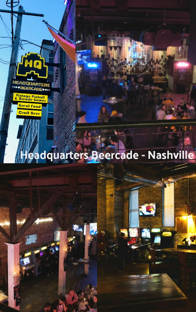 Headquarters Beercade Arcade Nashville, Tennessee