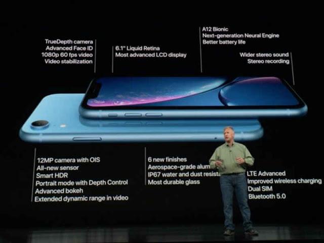 Apple Luncurkan Ponsel iPhone XS, XS Max dan Xr.