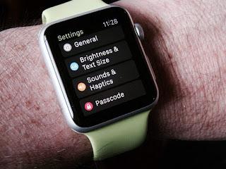 Adjust Apple Watch settings