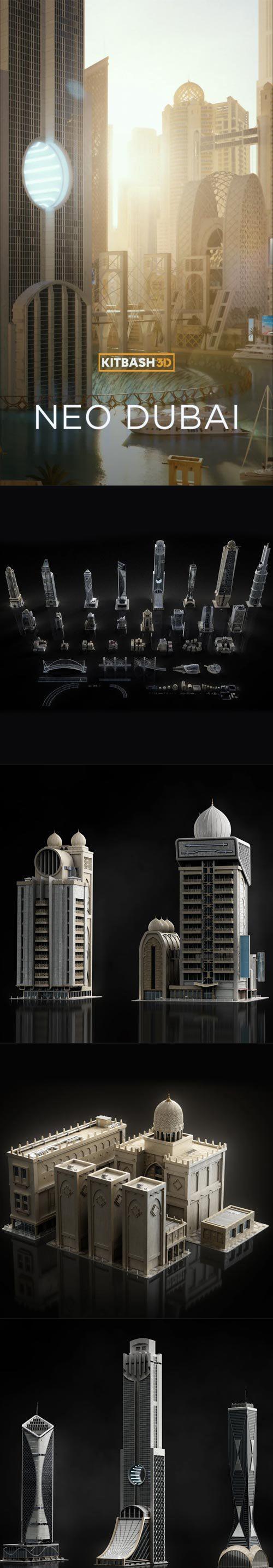 Kitbash3D Neo Dubai...