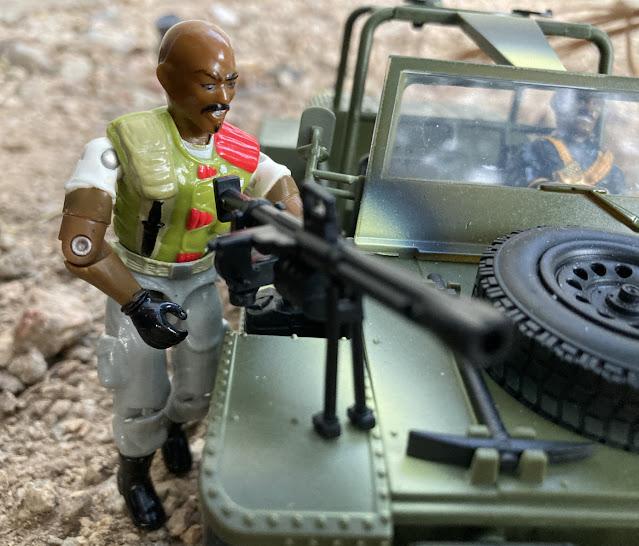 1986 Roadblock, 1992 Talking Battle Commanders Stalker