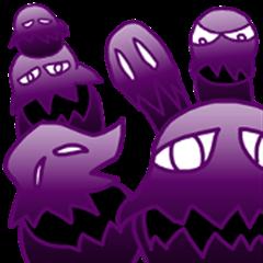 eggplant specter sticker