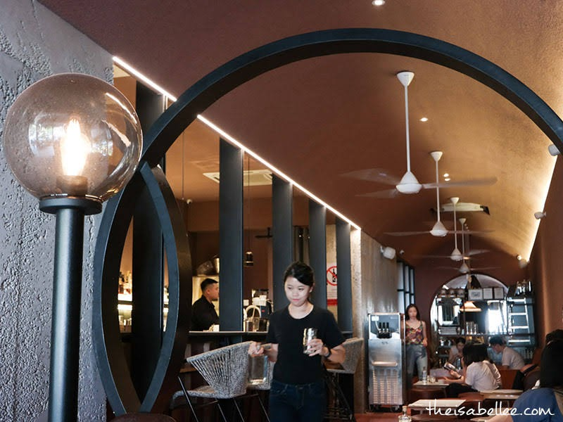 Bar inside Transparent Coffee Bangsar