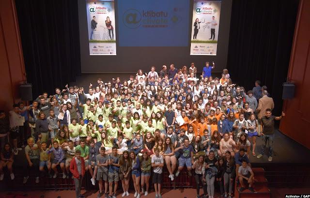 Acto de reconocimiento a los escolares que han participado en Actívate+
