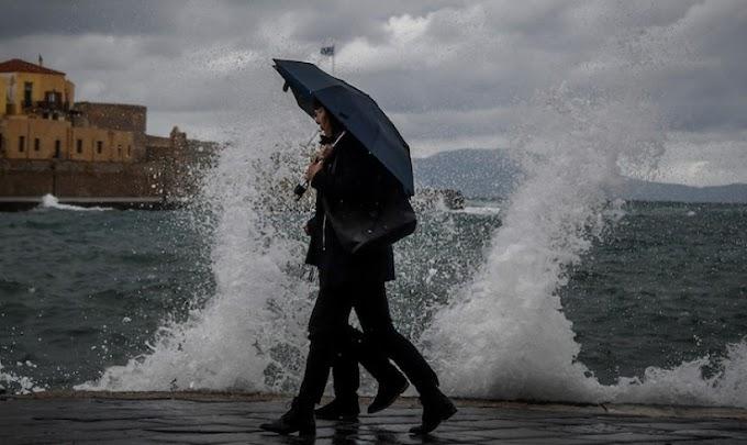 Ισχυρές καταιγίδες από απόψε το βράδυ - Ποιες περιοχές θα χτυπήσουν