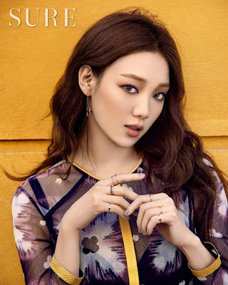 Lee Sung Kyung Sure April 2016