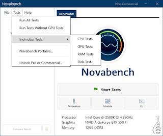 برنامج, أختبار, ومعرفة, قدرات, الحاسوب, NovaBench, اخر, اصدار