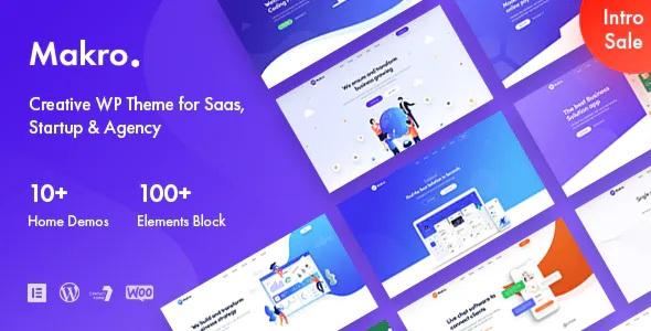 Best Creative WordPress Theme For Saas & Startup