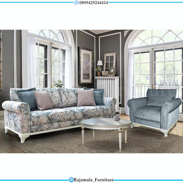 Set Sofa Tamu Minimalis Shabby Vintage Furniture Jepara Terbaru RM-0318