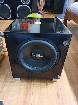 REL T9 Subwoofer (Used) 20200115_155842