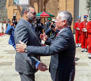 الملك محمد السادس يتصل بالعاهل الأردني هاتفيا ويؤكد له دعم المغرب لسيادة وأمن الأردن