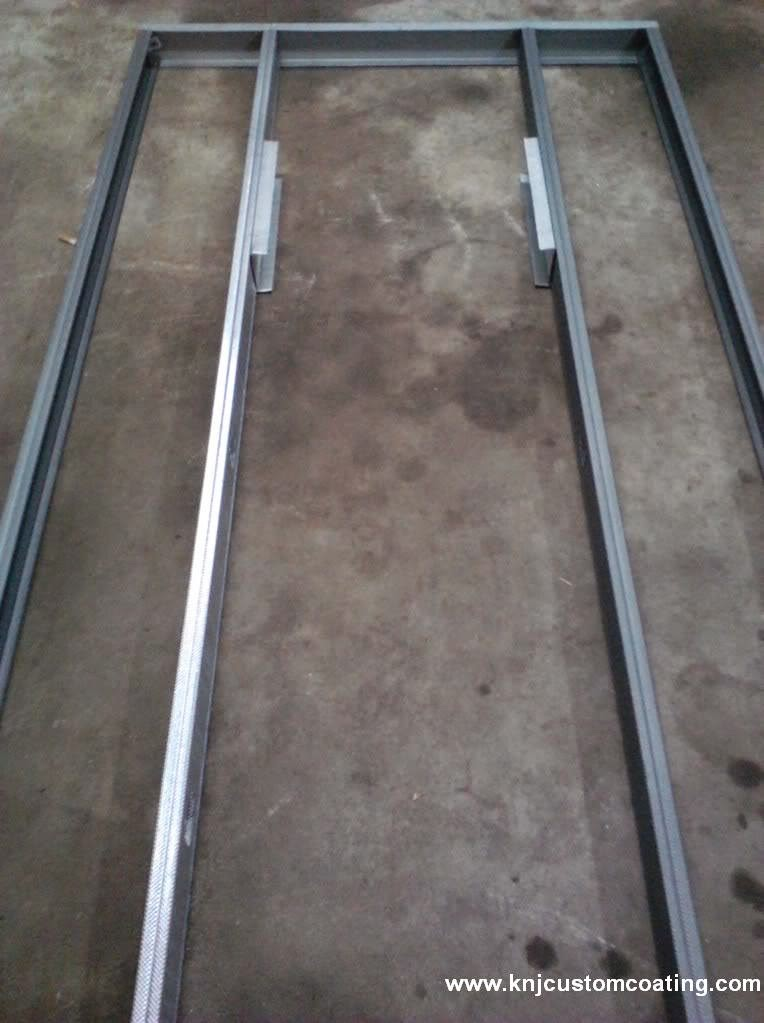 powder coating oven door frame