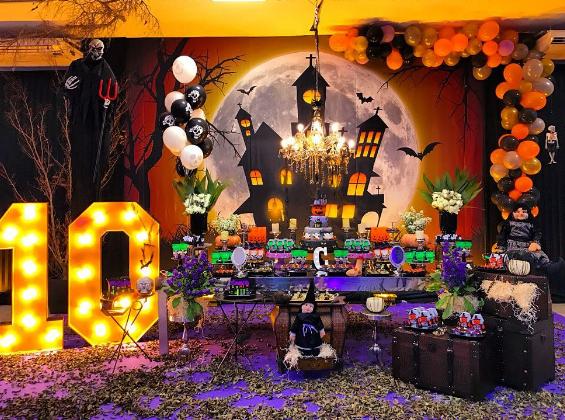 15 ideas para tu mesa de dulces de halloween - Decorar calabazas infantiles ...
