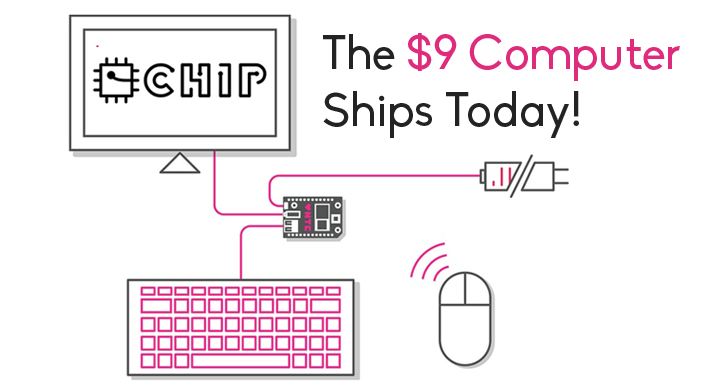 The World's First $9 Computer has Started Shipping