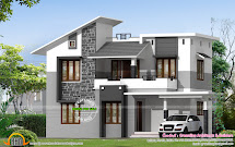 2 Types Of Villa Home Plans - Kerala Design And Floor