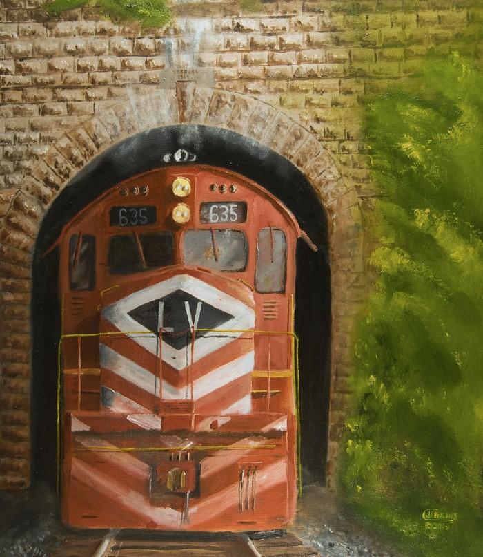 Железнодорожные картины. Christopher Jenkins 15