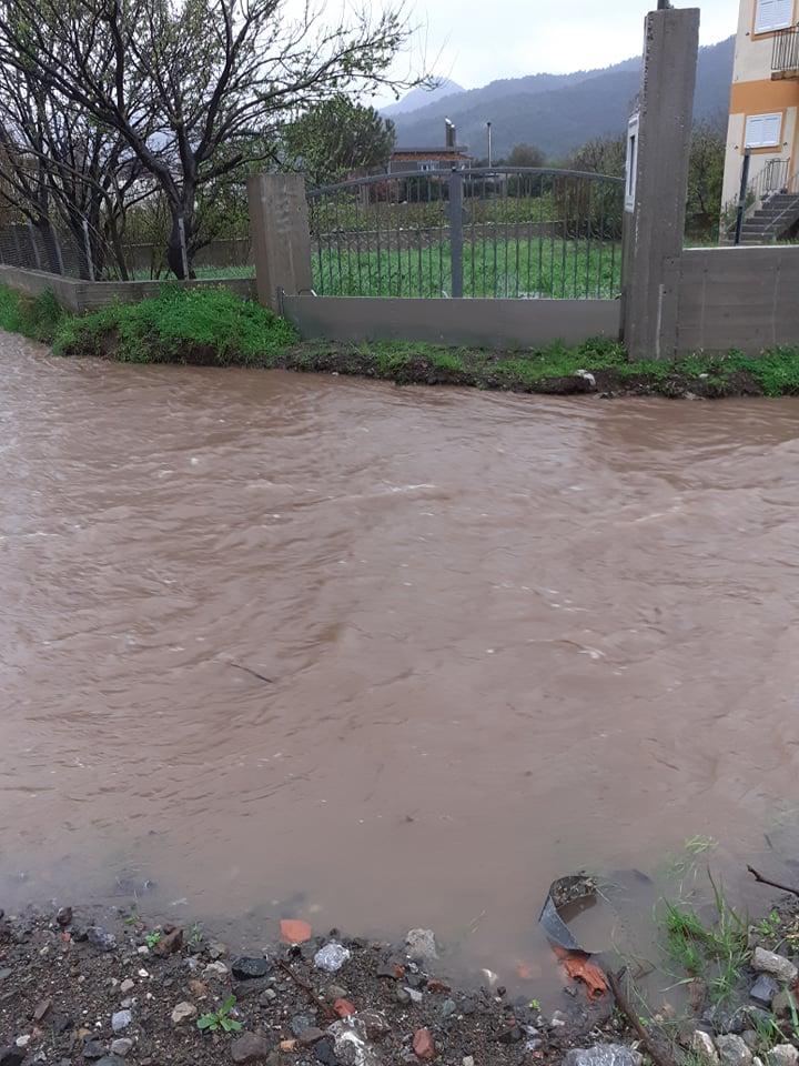 Καιρός τώρα: Πλημμύρισε η Μουρτερή (πηγή φωτογραφίας: facebook.com)