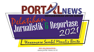 Portal News Gelar Pelatihan Jurnalistik dan Reportase di Bulan Ramadhan