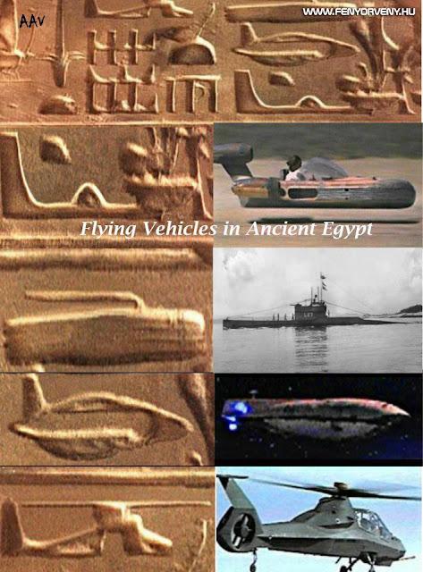 Hasonlóságok: Ősi repülőszerkezetek (2.)