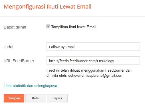 Membuat Widget Newsletter Responsive di Blog