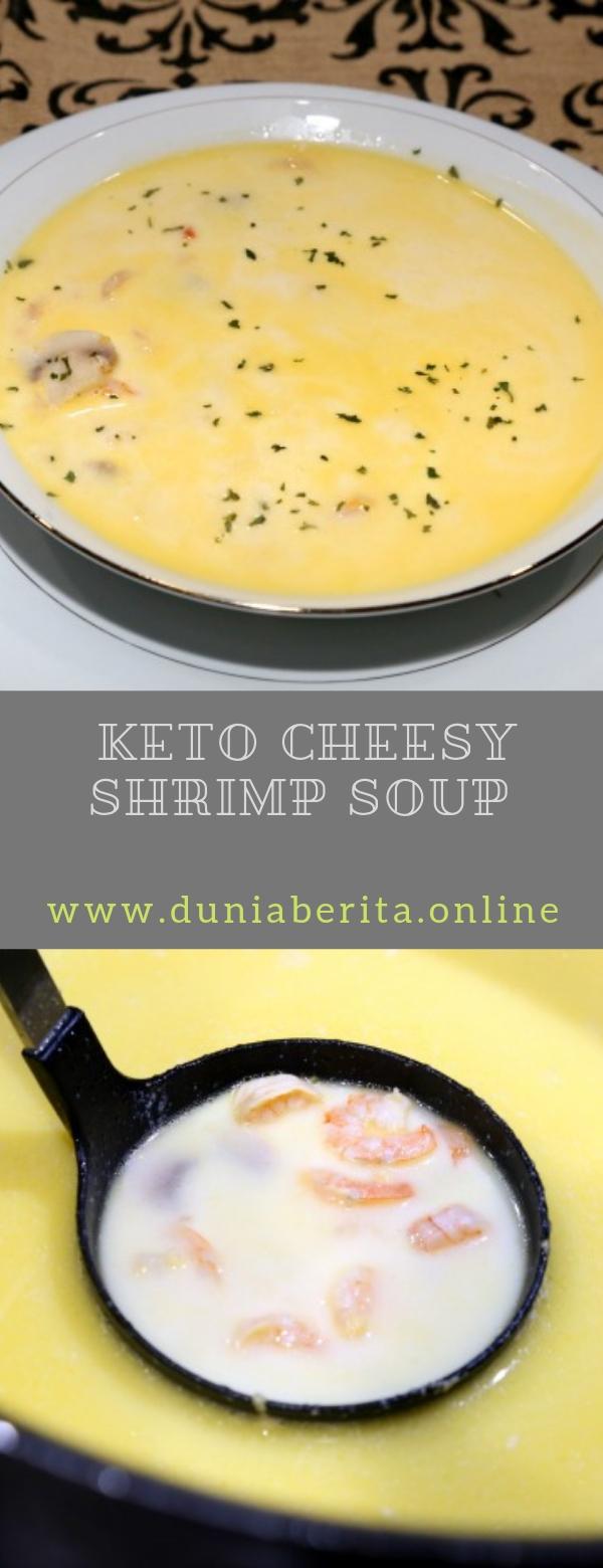 Keto Cheesy Shrimp Soup Recipe