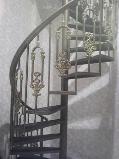 Tangga Klasik, Tangga Antik, Tangga Besi Tempa