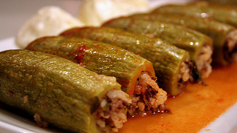 Stuffed zucchini kousa mahshi recipe arabic food recipes stuffed zucchini kousa mahshi recipe forumfinder Image collections