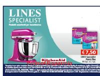 Logo Con Lines Specialist puoi vincere un elegante Robot da cucina KitchenAid