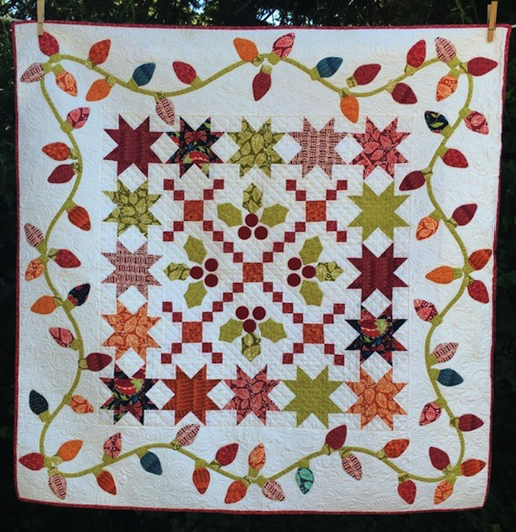 Holiday Stars Quilt designed by Alex Anderson of Quilters Select