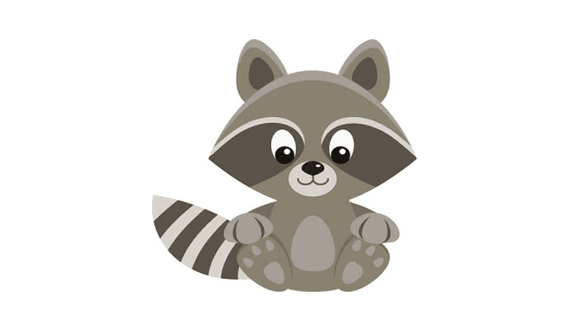 Free raccoon clipart by GO designs: Personal use only