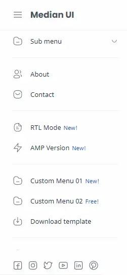 Median-UI-Blogger-Template-Menu-Section