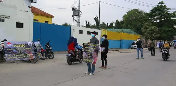 Persatuan Remaja Kebalen (PARK) Galang Donasi Sosial Kemanusiaan