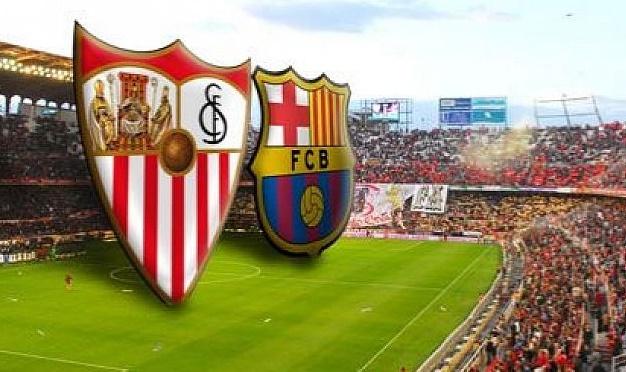 نتيجة اهداف مباراة برشلونة واشبيلية اليوم 5-4-2017 ملخص فوز برشلونة بنتيجة 3-0 بالدوري الاسباني