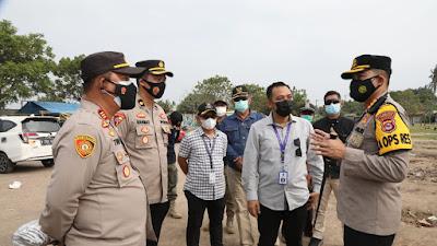 Pengunjung Obyek Wisata Pantai Tanjung Kait Harus Tertib Prokes
