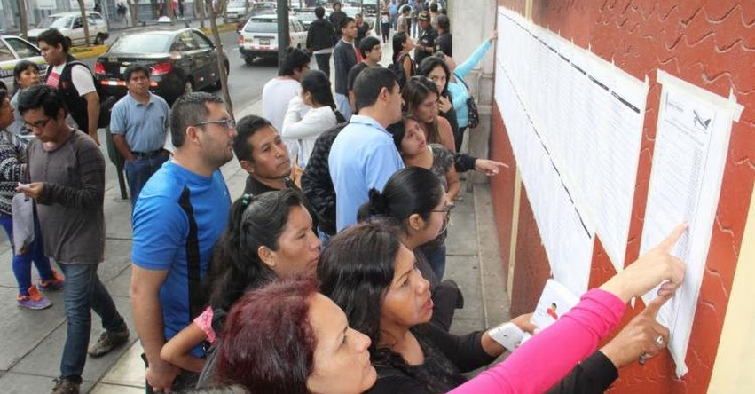 UNFV: Más de 15 mil postulantes rindieron hoy Examen de Admisión a la Universidad Nacional Federico Villarreal (Resultados 8 Abril) www.unfv.edu.pe